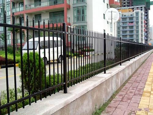 锌钢小区围墙护栏